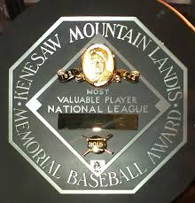 Major League Baseball Most Valuable Player Award - Wikipedia